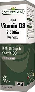 Natures Aid 50 ml Vitamin D3 Líquido
