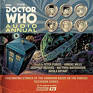 The Doctor Who Audio Annual     Multi-Doctor Stories              De :                                                                                                                                 BBC                               Lu par :                                                                                                                                 Nicola Bryant,                                                                                        Anneke Wills,                                                                                        Matthew Waterhouse,                   and others                 Durée : 2 h et 20 min     Pas de notations     Global 0,0