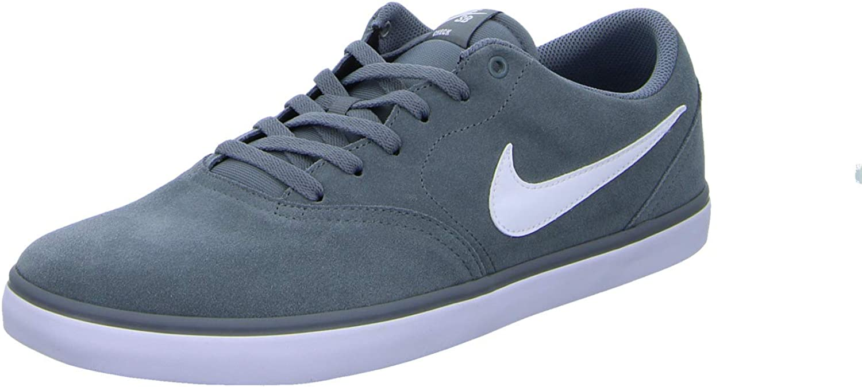 Nike Mens SB Check Solar shoes Cool Grey White Size 14