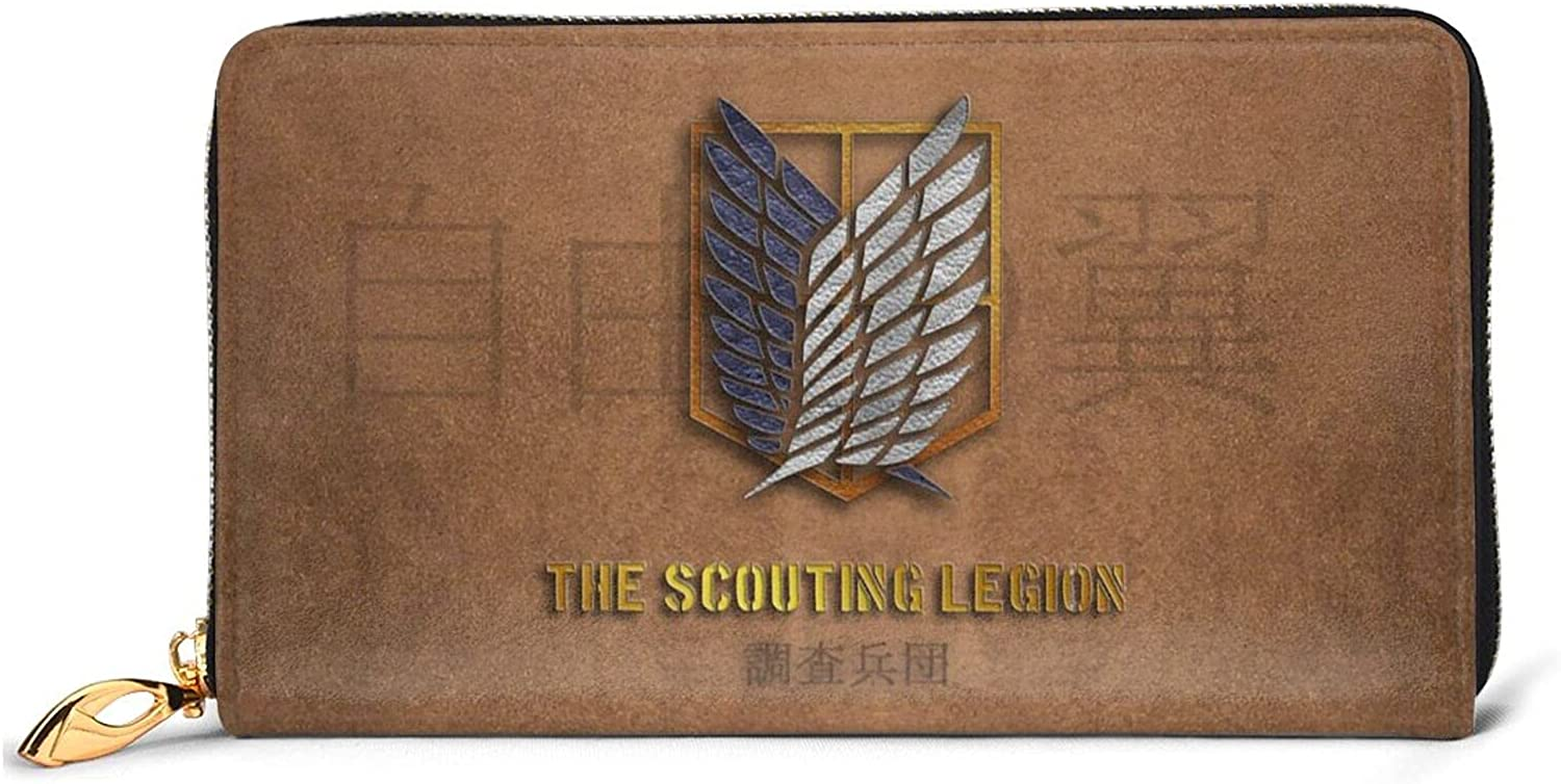 One Piece Wallet Leather Wallet Zipper Card Bag Portable Wallet Mobile Phone Bag Men And Women