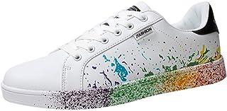 riou Zapatillas de Deportivos de Running para Mujer Zapatos Blancos Alpargatas Mujer cuña Fitness Casuales Aire Libre y De...