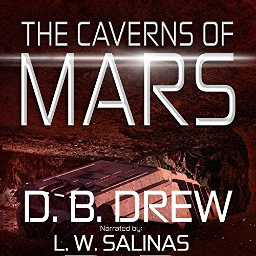 The Caverns of Mars audiobook cover art