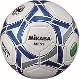 ミカサ(MIKASA) サッカー 日本サッカー協会検定球5号(一般・大学・高生・中学生用) 白/青 貼りボール MC55-WBLN