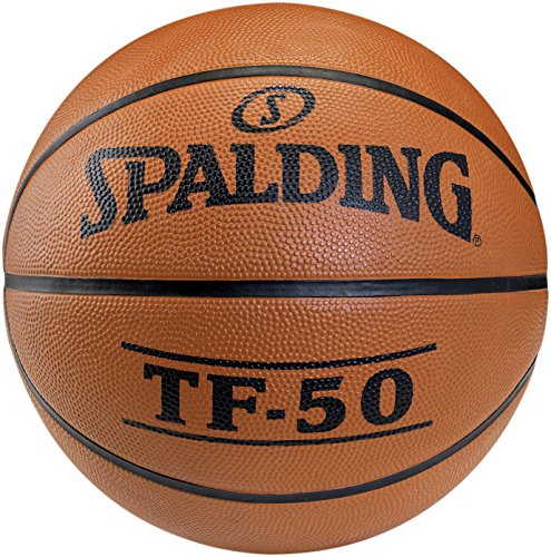 Spalding Basketball TF50 Outdoor 73-852z Ball, orange, 5