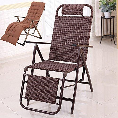 XXHDEE Klapstoel Recliner kantoor Siesta stoel lunchpauze stoel luier stoel oudere stoel vrije tijd strandstoel loungestoel
