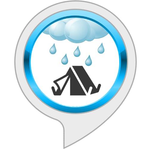Entspannungsgeräusche: Regen auf einem Zelt