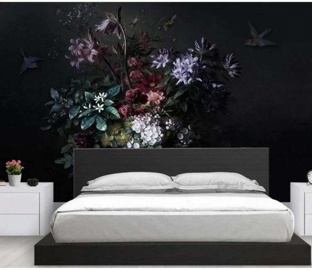 Nordic Modern Flower Photo Wallpaper Rolls Living Room Bedro High material New products world's highest quality popular for