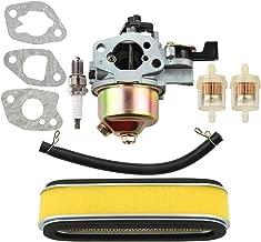 Leopop 16100-ZE6-W01 Carburetor for Honda HR194 HR195 HR214 HRA214 HR215 HR216 HRA216 HRC216 Lawn Mower GXV120 GXV140 GXV160 Engine with 17210-ZE6-505 Air Filter