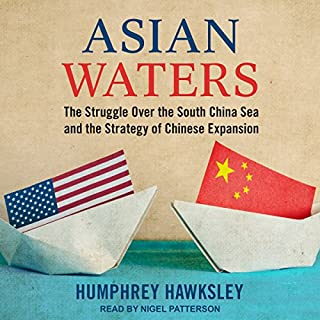 Asian Waters audiobook cover art