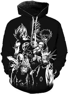Anime Dragon Ball Z Felpe Super Saiyan Goku Felpe con Cappuccio Stampate in 3D Uomo Donna Primavera Moda Casual Streetwear...