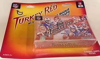 2014 topps turkey red football