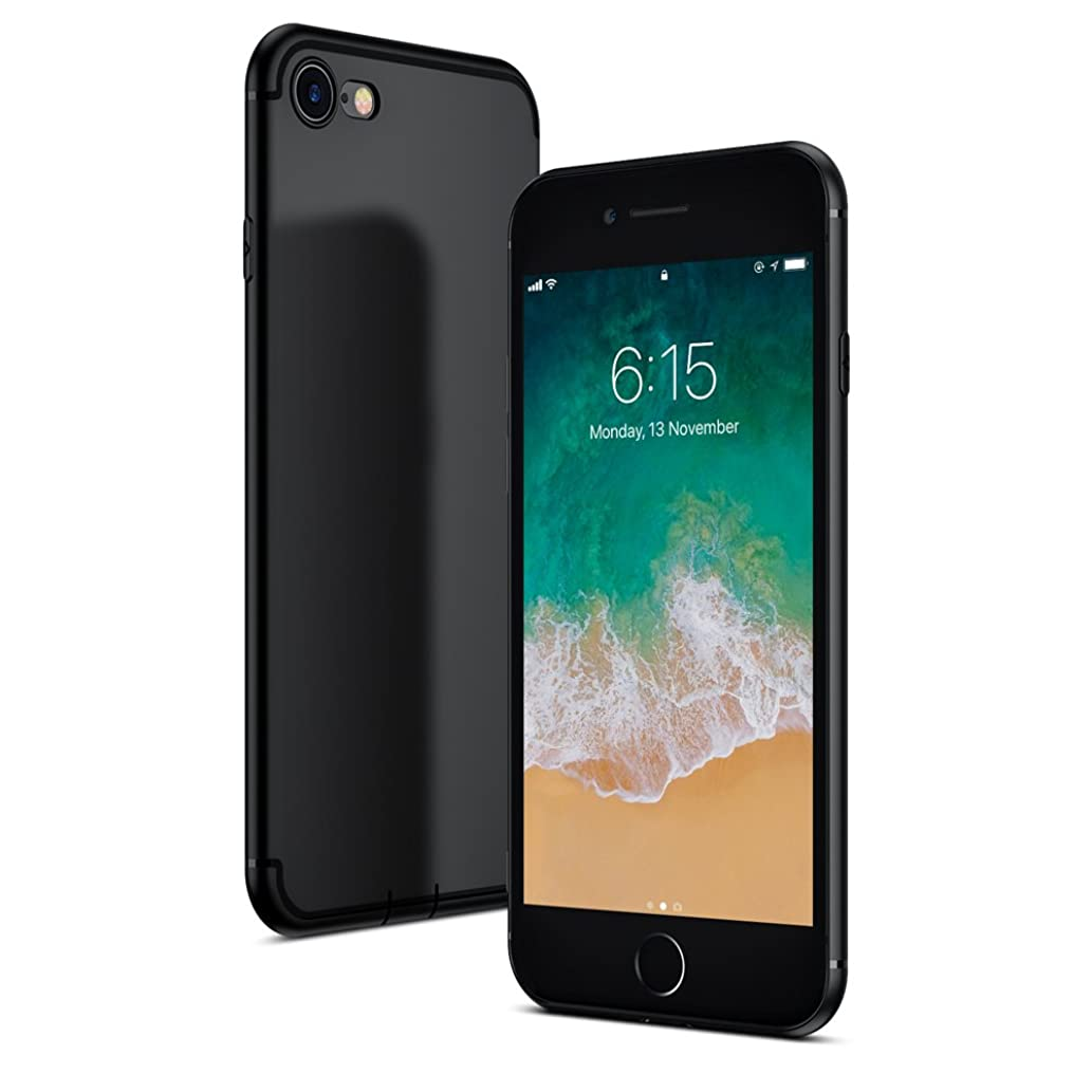 GLOUE Compatible iPhone 8 Case,iPhone 7 Case, Ultra Slim Thin Cases Anti-Scratch Hybrid Shock Absorption Soft TPU Back Panel Full Cover for iPhone 8/7 (4.7