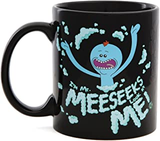 Rick and Morty Heat Changing Meeseeks Coffee Mug