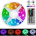 Linkstyle Upgraded 16.4Ft Waterproof RGB Light Strip Kits