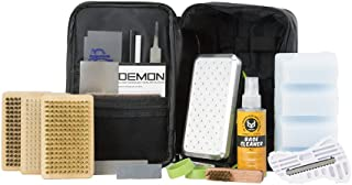 Demon Hyper Speed Ski & Snowboard Tune Kit with Iron, 1lb Wax Block & Base Cleaner
