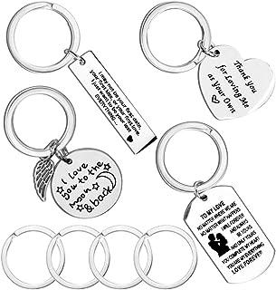 CNYMANY 4 Stück Paar Schlüsselanhänger, Jubiläum Dekoration Schmuck Schlüsselanhänger für Liebhaber Mann Frau Freund Freundin