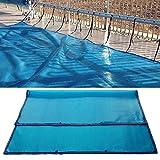 Cubierta solar Cubierta de piscina Manta calefactora, Cubierta de piscina de protección UV, Protector de cubierta solar de piscina Protector endotérmico Manta térmica con lado de burbuja