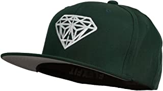 Big Diamond Outline Embroidered Flexfit Cap