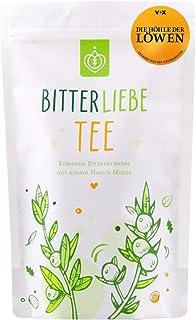 BitterLiebe Kräutertee lose 100g mit der Kraft der Bitterstoffe I Bitterkräuter, Löwenzahn, Tausendgüldenkraut, Fenchel, Pfefferminz I ca. 60 Tassen
