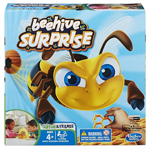 Hasbro Beehive Surprise, Juego Divertido para niños, de la Serie de Juguetes Personajes de EleFun and Friends