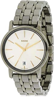 Rado R14064107 Diamaster Ceramic Mens Watch - Silver Dial
