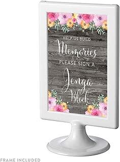 Best jenga wedding frame Reviews
