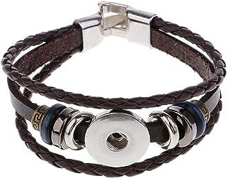 Biker Babe Verre Cabochon Bracelet Tressé Bracelet En Cuir Bracelets