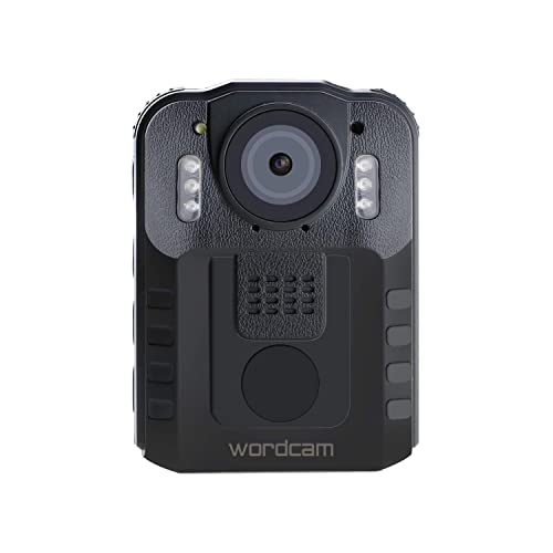 Wordcam Body Worn Camera Portable Video Recorder for Police Law Enforcement,Night Vision Security DVR