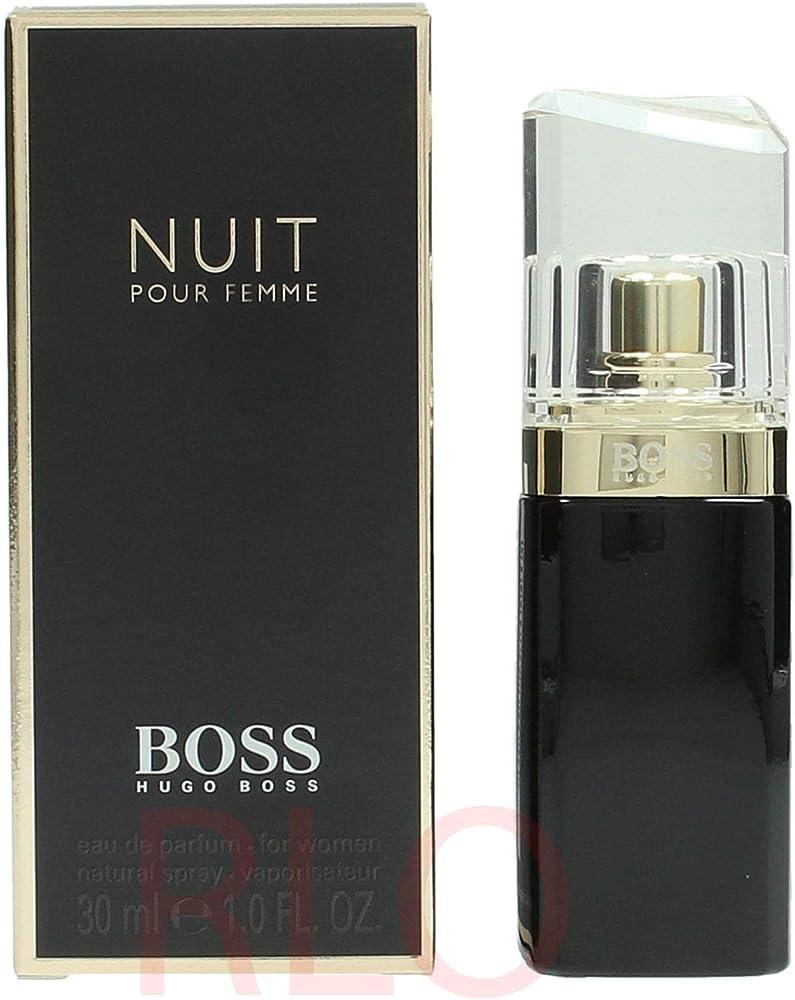 Hugo boss, boss nuit,  eau de parfum da donna, 30 ml 54991
