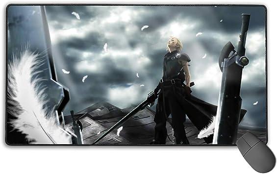 Anime Final Fantasy Vii Mouse Pad Aerith Gainsborough Large Keyboard Mat Playmat