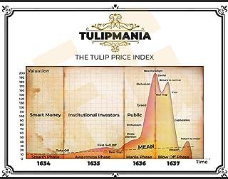 Finance Geek Wall Street Wall Art 11X14 Tulipmania V Stocks, Bonds, Bubbles, Bitcoin, Currency, FANG, Tulips