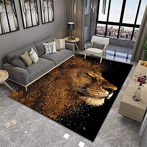 RUGMRZ Alfombras Salon Grandes Baratas 3D Visual Modern Living Room Big Alfombra Té Táctil Peludo Corta Varias Alfombras Nuevas colchonetas para niños Lavable y fácil de cui60X200CM/1ft 12''X6ft 7''