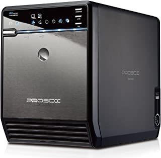 "Mediasonic ProBox HF2-SU3S2 4 Bay 3.5"" SATA HDD Enclosure – USB 3.0 & eSATA.."