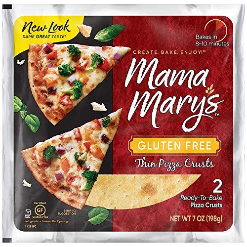Mama Mary's Gluten Free Pizza Crusts, 7 Ounce