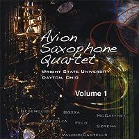Avion Saxophone Quartet Vol. 1