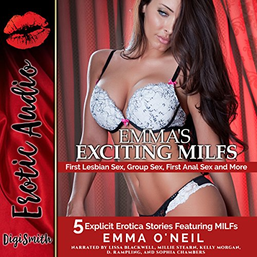 Emma's Exciting MILFs: First Lesbian Sex, Group Sex, First Anal Sex, and More cover art
