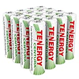 Tenergy AA Rechargeable NIMH Battery 2000mAh Pre-charged Household Battery Low Self Discharge High Performance AA Battery Pack for Remote Controller/Toys/Flashlight/Mice (16 PCS)