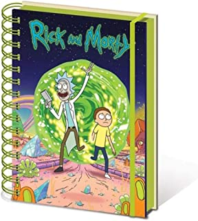 Rick And Morty - Portal A5 Wiro Notebook