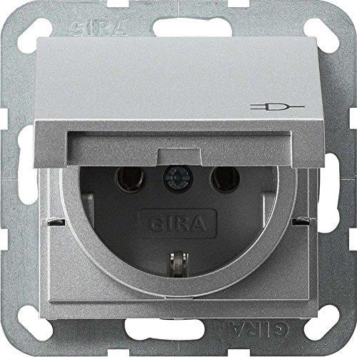 Gira Steckdose SCHUKO 045426 KD System 55 Farbe Alu, 250 V