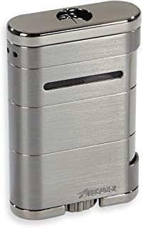 Xikar NEW ALLUME Stealth Gunmetal Lighter
