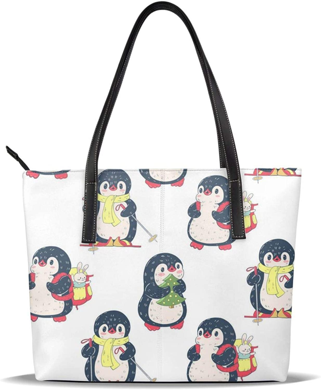 Handbag Cute Penguins2 Travel Japan Maker New Gym Tote Excellence Shopping Reusable Grocery