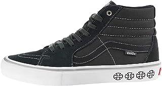 Vans Men's Shoes SK8-Hi Pro Suede/Canvas Spruce White Sneakers