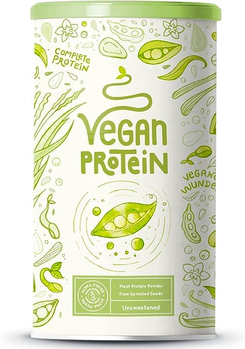 Proteine vegane alpha foods 600 gr - non aromatizzato AF-VPN