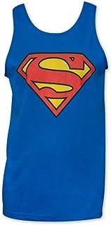 DC Comics Superman Symbol Royal Blue Men's Tank Top
