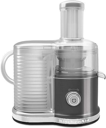 2021 KitchenAid KVJ0333QG discount Easy new arrival Clean Juicer, Liquid Graphite (Certified Refurbished) Renewed online