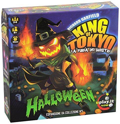 Uplay.It - King of Tokyo Gioco da Tavolo, Halloween, Espansione per King of Tokyo