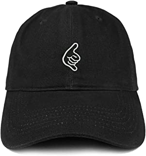 Hang Loose Hand Embroidered Soft Cotton Dad Hat