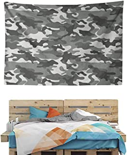 HuaWuChou Grey Color Shades Tapestry DIY, Wall Hanging for Bedroom Living Room Dorm, 10W x 8L Inches