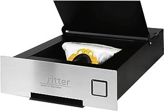 Ritter 940000 Einbau-Sockelsauger SES 10, Edelstahloptik