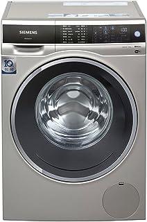 【国美自营】siemens 西门子 10公斤 变频滚筒洗衣机(缎光银) 智能添加 wifi智能互联 全触控面板 WM14U669HW【大牌?#22270;??#20998;时?#35777;】